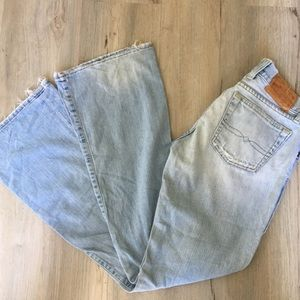 Lucky Brand Sweet Dream Button Up Distressed Jeans